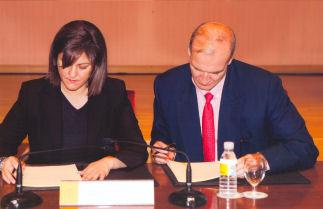 La Ministra y Cipriano Gómez