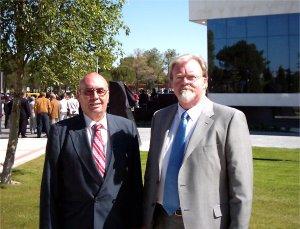 Harald Aagessen y Antonio Pérez-lópez